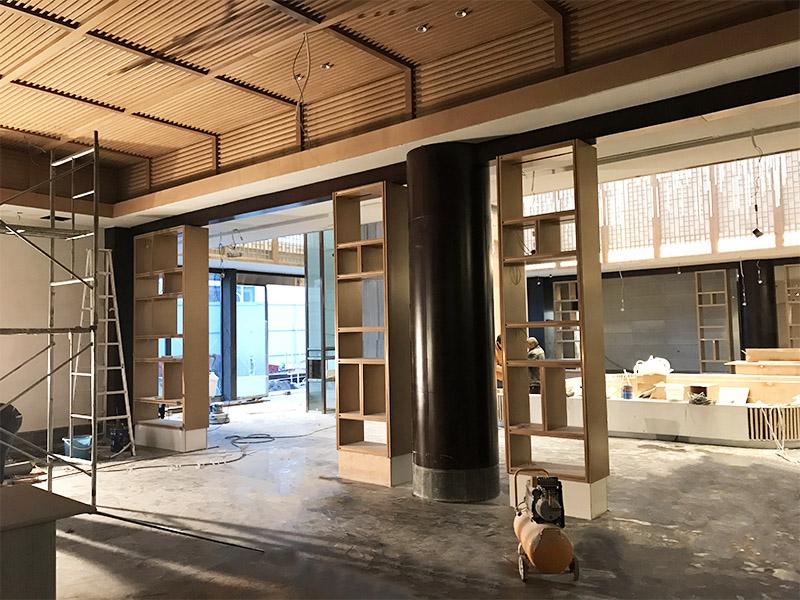 四川省江安县恒旭・江悦台 售楼中心整装工程